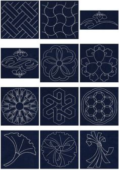 Japanese Embroidery Books In English Free Sashiko Machine Embroidery Designs Embroidery Designs, Hand Embroidery Patterns, Embroidery Thread, Quilting Designs, Machine Embroidery, Embroidery Supplies, Art Patterns, Viking Embroidery, Embroidery Jewelry