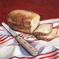 """Daily Bread"" - Original Fine Art for Sale - © Kathleen Williford"