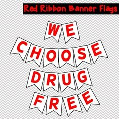 Red Ribbon Week 2019 Pack (free update for by Hanging with the Counselor Elementary School Counselor, School Counseling, Elementary Schools, School Spirit Days, Red Ribbon Week, Ribbon Banner, School Signs, Just Do It, Packing