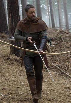 """Robin Hood"""" with Russell Crowe and Ridley Scott - Russell is ..."""