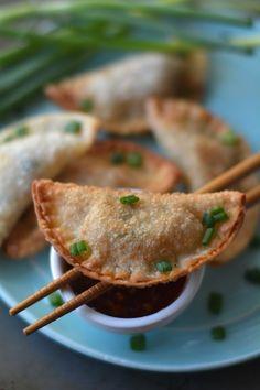... : Apeteezers! on Pinterest | Fried pickles, Wontons and Garlic aioli