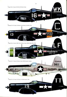 American  WW2  F4U Corsair