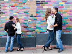 Plum Pretty Photography | Boulder Engagement Photography | Pearl Street Engagement Photos | Urban Engagement Photos