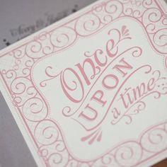 Storybook Wedding Invitation, whimsical invitation, fairytale invitation - Ever After Fairytale tri fold Wedding Invitation-