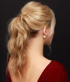 Perfect Ponytail Hairstyles for Prom Party 2015: #hairdosforprom
