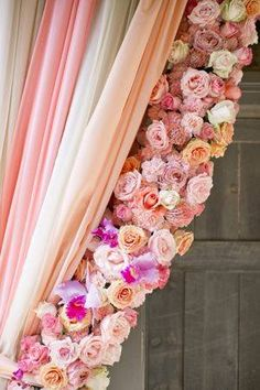 gorgeous rose curtains