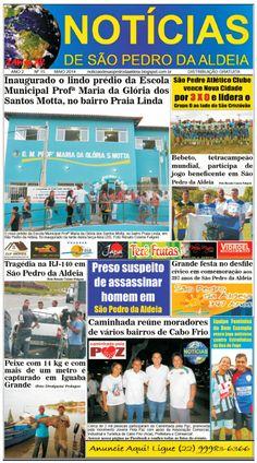 Notícias de São Pedro da Aldeia: JORNAL NOTÍCIAS DE SÃO PEDRO DA ALDEIA 2ª EDIÇÃO M...