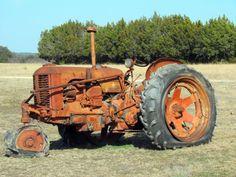 hico 5 by Paladin   Via Flickr:   Case Tractor near Hico, Texas. February 2014