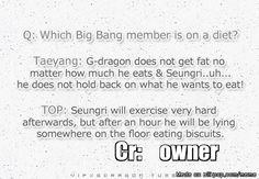SEUNGRI's SPECIAL DIET   allkpop Meme Center - Seungri is my kinda people.
