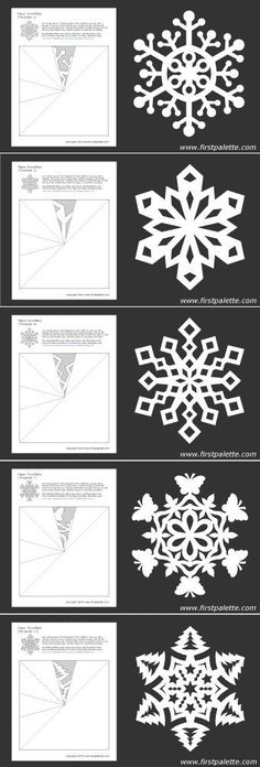 Los modelos de los copos de nieve. ¡Las ideas de la aplicación de los copos de nieve en la decoración! - un nuevo año - el Mundo Femenino