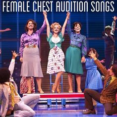 Female Chest Audition Songs - a musical theatre mix for songs sung in the chest voice [x]**the playlist for the head voice can be found here