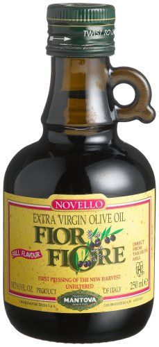 Fior Fiore Extra Virgin Unfiltered Olive Oil Fior Fiore, 8.5-Ounce Bottles (Pack of 4) >> Trust me, this is great! Click the image. : Fresh Groceries