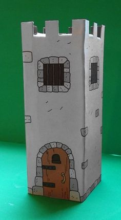 Learn how to create a DIY cardboard castle for kids. With these free printable resources, you and your children can build a cardboard castle. More from my site Free DIY Cardboard Castle for Kids Cardboard Castle, Cardboard Crafts, Cardboard Boxes, Diy Paper, Paper Art, Paper Crafts, Diy For Kids, Crafts For Kids, Castle Crafts
