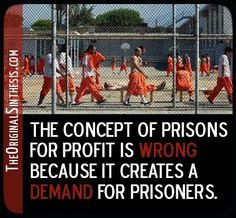 Prison does not solve the problem leading to the crime. It provokes more criminal action. Pathetic.