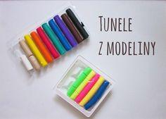 Tunele z modeliny #DIY