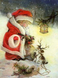 Santa in Training.......by Lisi Martin