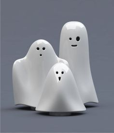 Ghosts Salt & Pepper Shakers