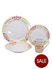 Rayware Brights 16-Piece Dinner Set