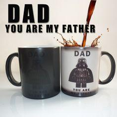 You Are My Father Heat-Changing Mug //Price: $25.09 & FREE Shipping //     #starwars #starwarsnerd #starwarsgeek #jedicrazy #jedi #maytheforcebewithyou