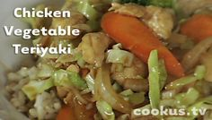 Chicken Cabbage Carrot Teriyaki