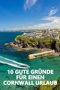 Hier erfahrt ihr warum jeder mindestens einmal im Leben in Cornwall Urlaub machen sollte.