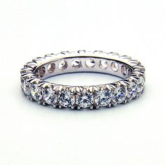 1.00 Carat Diamond Wedding Band Diamond Eternity by Brilliantee, $1750.00