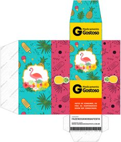 Uau! Veja o que temos para Caixa Remedio Flamingo Tropical