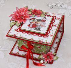 Christmas Box; flip over box heartfelt creations