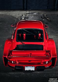 Visit The MACHINE Shop Café... ❤ Best of Porsche @ MACHINE ❤ (Red PORSCHE 911 RUF RSR)