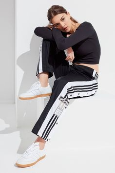 adidas Originals Oversized Tear-Away Track Pant  3c2f87ba0338b