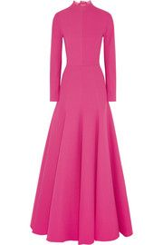 SOLD OUT! Pinned last week. SOLD OUT! - Oct 3rd.  There is ONLY 1 left.  Emilia WicksteadBackless wool-crepe gown