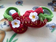 Babyschuhe Babysocken Erdbeerschuhe 9 cm