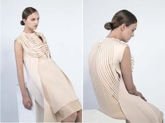 dis/sect_Minette Shuen fashion designer  / Photography: Kristina Yenko / Hair- MUA: Samantha Wilson via arcstreet.com
