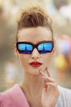 91b7210d114b4 Oculos De Sol, Óculos De Sol Para Mulheres, Retrato De Beleza, Óculos
