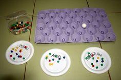 compter quantités Atendiendo Necesidades: Material TEACCH y otras ideas Preschool Math, Math Classroom, Kindergarten, School Games, Carnival Games, Numeracy, Eyfs, Math Games, Outdoor Blanket