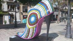 Zapato gigante #Elche ciudad del calzado