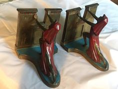 Queen of the Nile  -- LV ARONSON -- 1924 RONSON VINTAGE BOOKENDS
