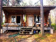 Tiny cabin in Sweden