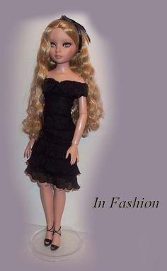 Black Dress For Ellowyne Wilde Doll by InFashions on Etsy, $7.99