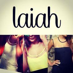 Material de divulgacao para o evento. #laiah #fashion #tops