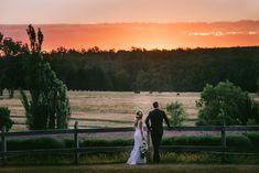 Daylesford wedding at Sault lavander farm. Lavander and sunset. Daylesford perfection. www.shaunguestphotography.com.au