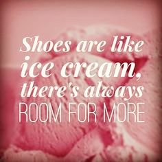 Better than ice cream! #shoesarebetterthanicecream #love #pink #sweet #icecream #fave #good #crazy #loveislove #hot #shoes #shoes2go #Shoes2goOnGranville