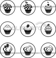 http://img.cliparto.com/pic/xl/189493/3142626-cupcakes-set.jpg