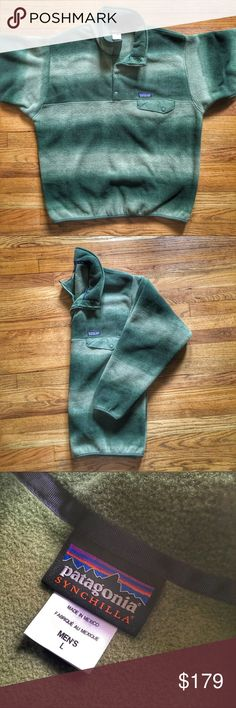 NWOT Patagonia Spring '15 Snap-T Synchilla Fleece NWOT Patagonia Spring '15 Snap-T Synchilla Fleece Pullover Jacket.  Size large.  Brand new.   Get it cheaper on G®ailed & Ⓜ️erc.  See something you like but it's not here next week? We sell in store and across multiple platforms, so items go quick! If you're interested, act on it before you lose it! Patagonia Jackets & Coats