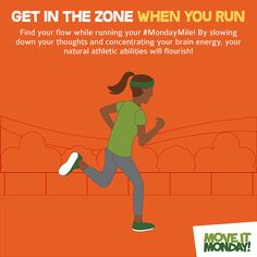 Get in the zone. Running Tips Beginner, Slow Down, Your Brain, Finding Yourself, Encouragement, Campaign, Nutrition, Exercise, Thoughts