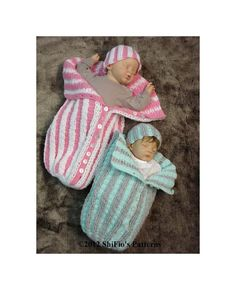 Baby+Crochet+Pattern+Pleated+Cocoon+Papoose+Hat+Crochet+por+shifio,+$3,99