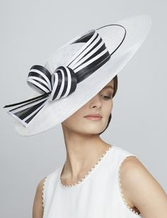 c706e5e3 57 Best Black and white hats images in 2018 | Fascinators, Caps hats ...