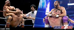 The Iron Sheik humbles Jinder Mahal over use of the Camel Clutch - http://kocosports.com/2012/08/18/wrestling/the-iron-sheik-humbles-jinder-mahal-over-use-of-the-camel-clutch/