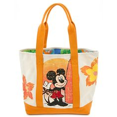 Mickey Mouse Beach Tote.  I have a Mickey and Mini shirt that I think I will rework into a tote or maybe a pillow.