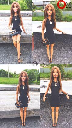 Маленькое чёрное платье-футляр подойдет на светские мероприятия или просто какое то торжество.